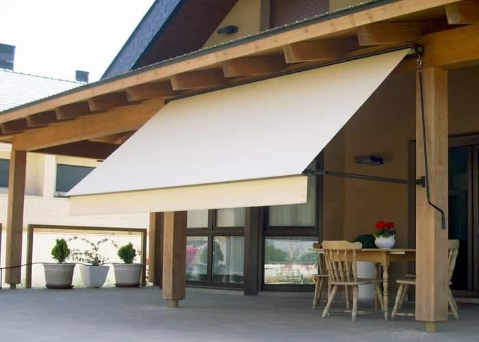 Store Terrasse, Store bannette